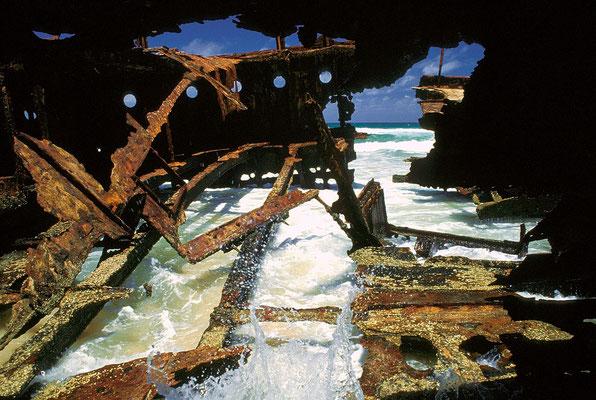AUS Fraser Island, Maheno Wreck