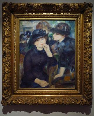 """Pierre Auguste Renoir (1841 - 1919): """"Mädchen in Schwarz"""", 1880"""
