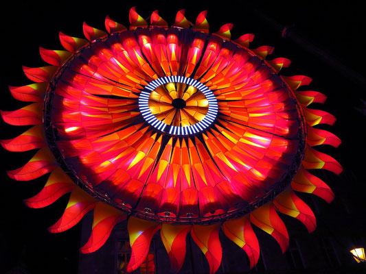 Lichtkonstruktion von Jaroslaw Koziara