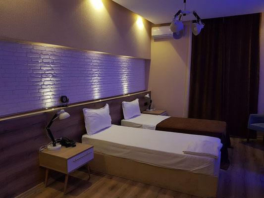 Zimmer 204, groß, ruhig, mit guten Betten