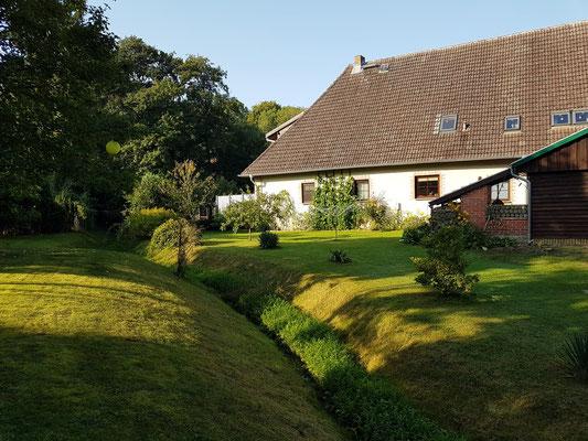 Pension Schwark, Garten