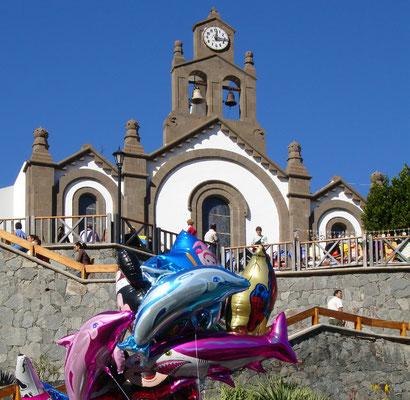 Santa Lucia, Fiesta mit Prozession und Viehmarkt am 13. Dezember 2005