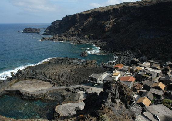 Pozo de las Calcosas nördlich von Mocanal ...