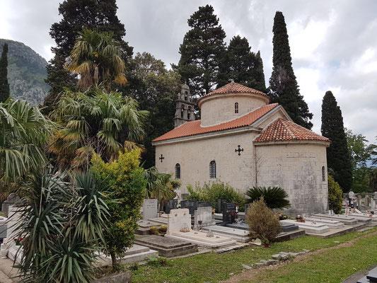 Groblje Škaljari, Friedhof in der Kleinstadt Škaljari bei Kotor