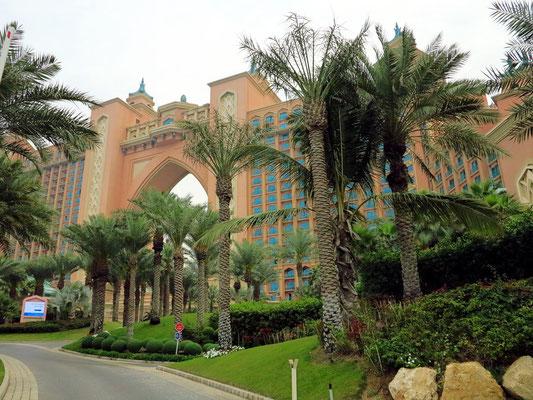 Hotel Atlantis auf The Palm Jumeirah