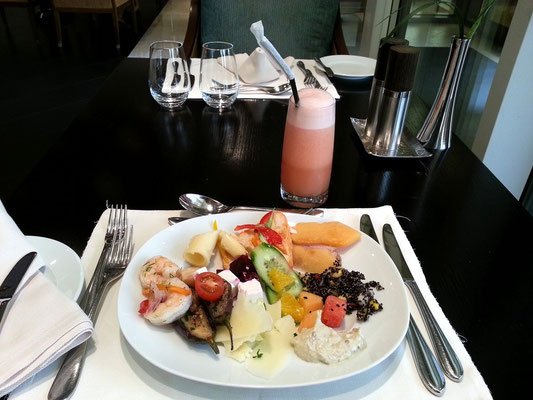 Lunch (1. Gang) im 5-Sterne-Hotel Grosvenor House in Dubai Marina