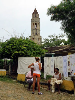 Torre de Iznaga, Turm zum Beaufsichtigen der Sklaven