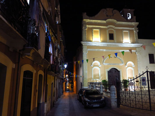 Chiesa di Sant'Efisio und Via Sant'Efisio