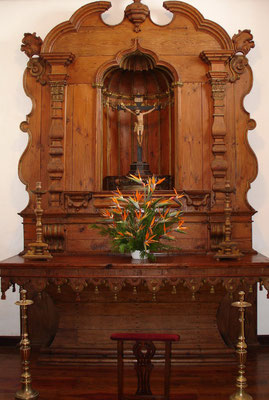 Hauskapelle im Palacio Spinola