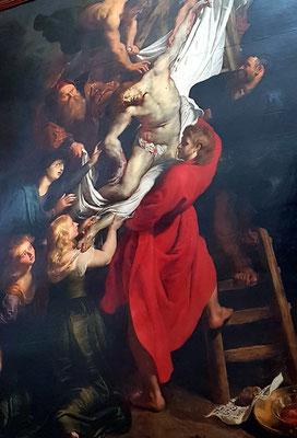 Rubens, Kreuzabnahme, 1612–1614, 420,5 × 320 cm, Öl auf Holz