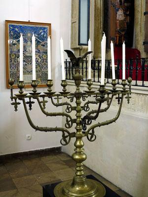 Alte Synagoge, Innenansicht