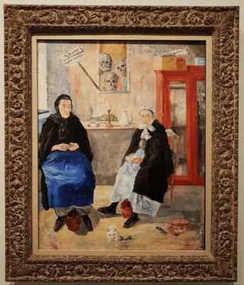 James Ensor (1860 - 1949), Die melancholischen Fischfrauen, 1892