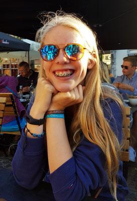"""""""Das Mädchen mit der Zahnspange"""" (Foto: Kerstin Rother-Schäfer)"""