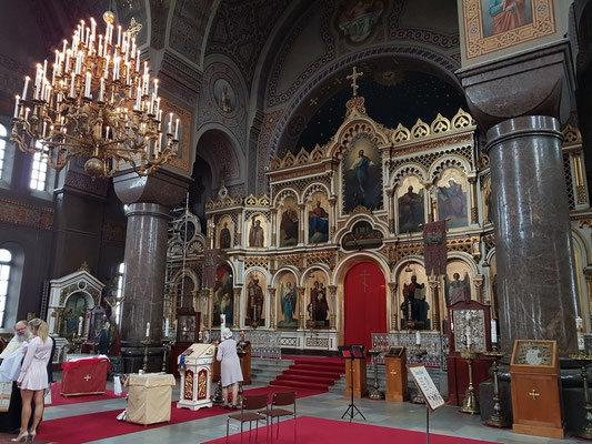 Inneres der Uspenski-Kathedrale