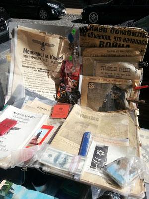 Propagandaschriften zur Zeit der deutschen Besatzung u.a.