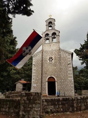 Orthodoxe Kirche Sv. Toma, ursprünglich 14. Jh., neue Kirche von 1910, Stefan Štiljanović geweiht