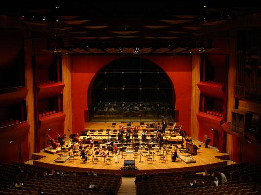 Großer Konzertsaal mit über 1600 Sitzplätzen