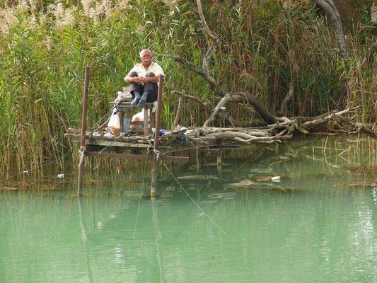 Angler am Manavgat