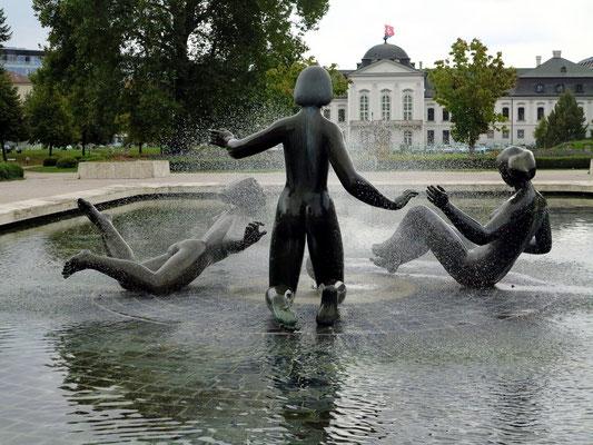 Fontána Mladosť im Präsidentengarten