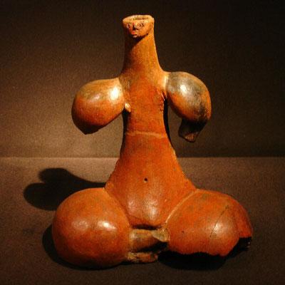 Las Palmas, Museo Canario, weibliches Tonidol von Tara/Telde