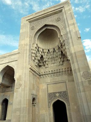 Eingangstor zum Palast der Schirwanschahs