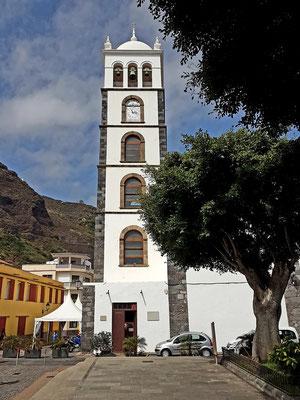 Garachico, Kirchturm der Iglesia de Santa Ana