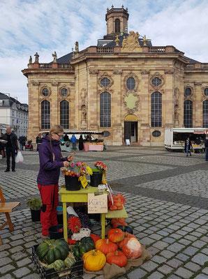 Ludwigskirche, einer der bedeutendsten evangelischen barocken Kirchenbauten Deutschlands (1765 ff.)