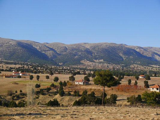 Im Taurusgebirge an der E87