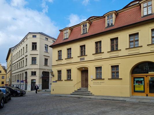 Händel-Haus mit Musikmuseum, Baujahr vor 1558