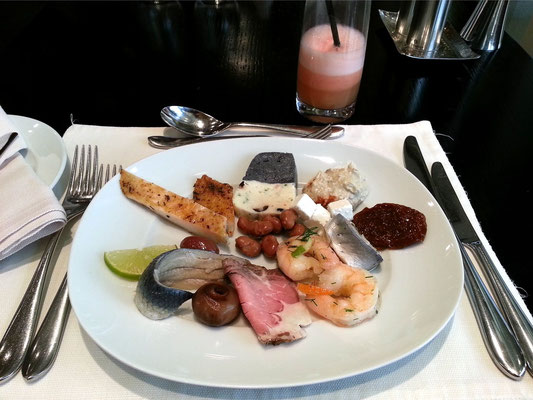 Lunch (2. Gang) im 5-Sterne-Hotel Grosvenor House in Dubai Marina