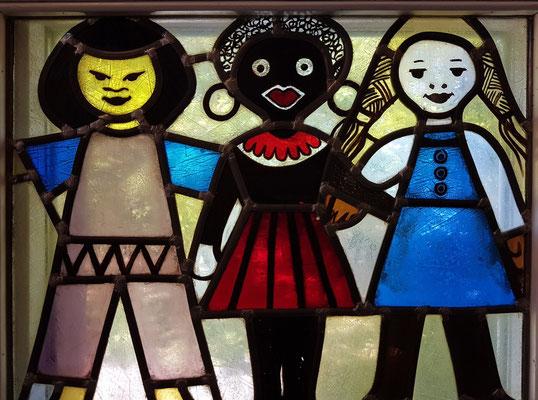 """Walter Womacka: """"Kinder"""" (Gleichberechtigung verschiedener Rassen)"""