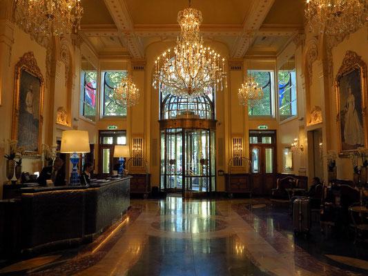 Hotel Imperial Lobby: Fürstliches Ambiente