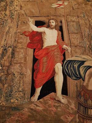 Die Auferstehung unseres Herrn, Flämischer Gobelin, Brüssel 1524-1531