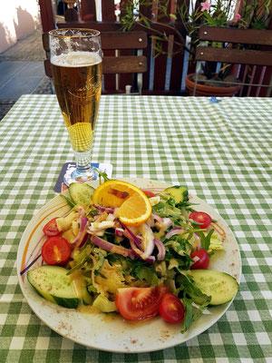 Abendessen im Restaurant Il Confine