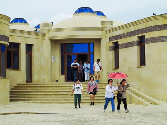 Gobustan Nationalpark: Ultramodernes Museum mit überraschenden interaktiven Ausstellungen.