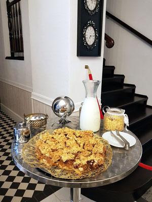 Hotel Ottaviano: Extraangebot Pflaumenkuchen zum Frühstück