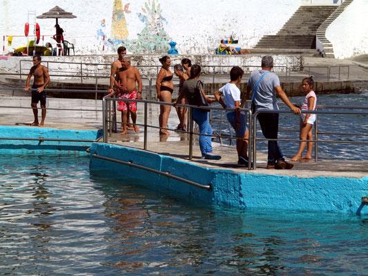 Meeresschwimmbecken in Negrito