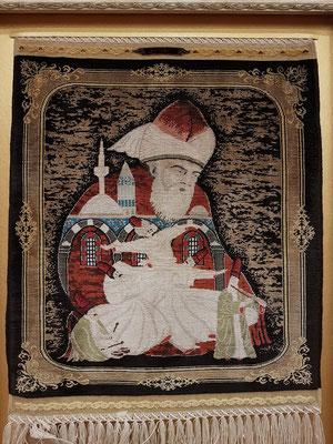 Kleiner Wandteppich aus Konya/Türkei, Wert: ca. 3600 EUR