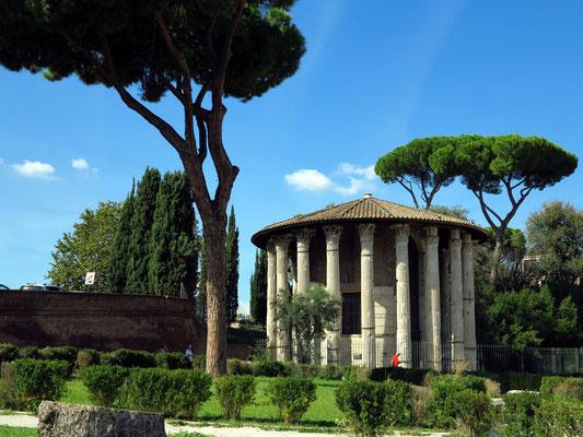 Tempel des Hercules Victor, erbaut um 120 v. Chr.