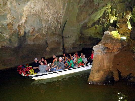 Bootsfahrt in der Cueva del Indio