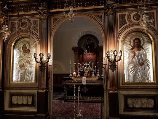 Serbisch-orthodoxe St. Nikolaus-Kirche, Ikonostase
