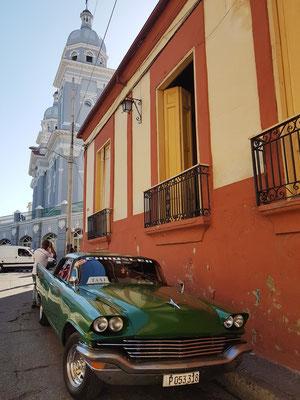 Taxistand am Parque Céspedes
