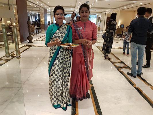 Empfang der Gäste im Hotel The Gateway Fatehabad Road, Agra