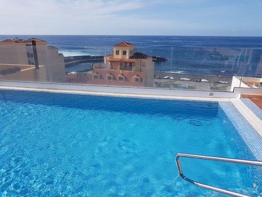 Hotel Marquesa, Swimmingpool auf dem Dach