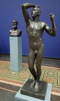 Auguste Rodin (1840-1917): Das eherne Zeitalter, Bronze 1901