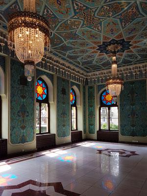Pausenraum im orientalisierenden Stil