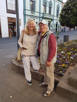 Eva und Frank in La Laguna