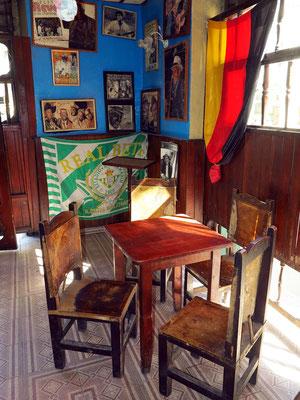 """In der Bar im Erdgeschoss der abendlichen Veranstaltung von """"Buena Vista Social Club"""""""