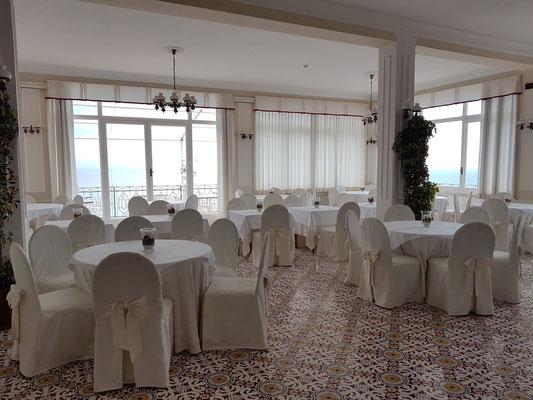 Hotel Belvedere in Conca dei Marini, Speisesaal