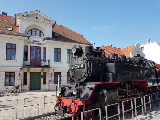 Dampflok 99 2321-0 in Bad Doberan-Stadtmitte